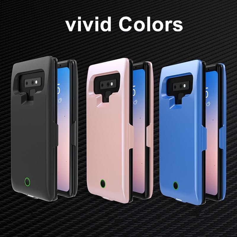 7000mah Backup Power Bank Cases for Samsung Galaxy Note 9