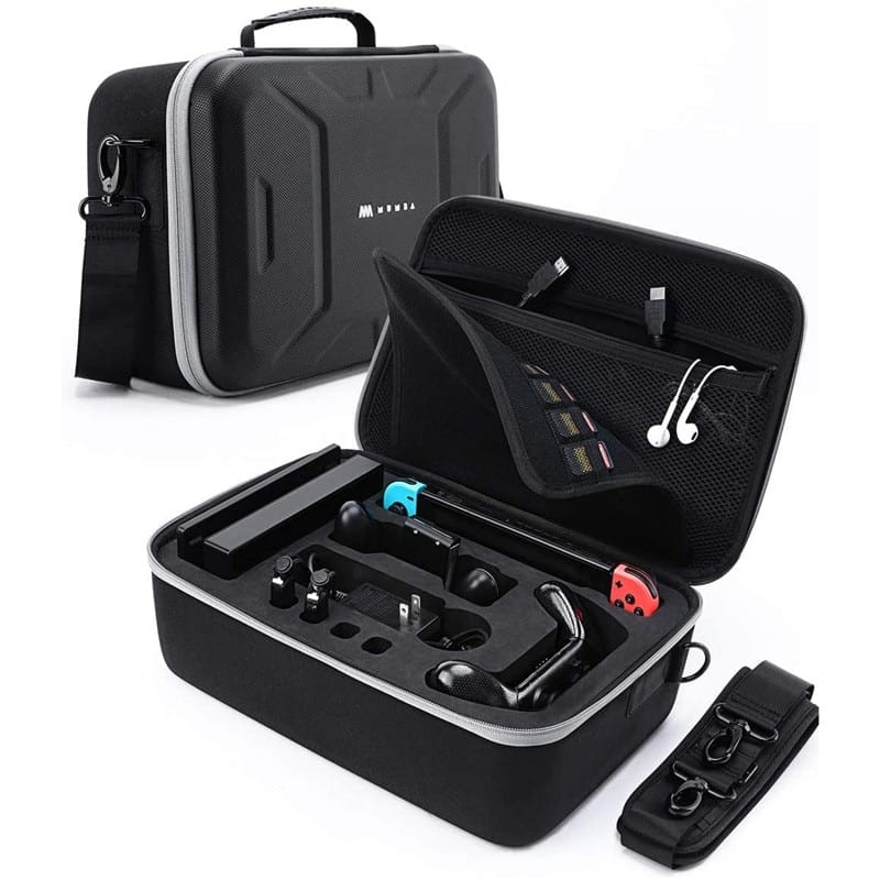 Carrying Case for Nintendo Switch, Large Capacity Travel