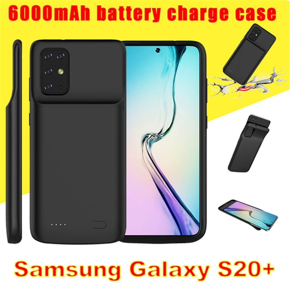 6000mah Battery Charger Cases for Samsung Galaxy S20 plus