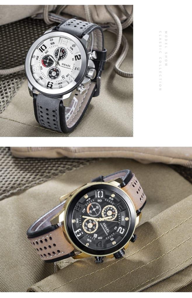 Men's 30m Waterproof Sport Casual Wrist Watch - 6 Colours