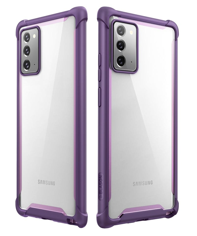 For Samsung Galaxy Note 20 - Ares Full-body Rugged Clear