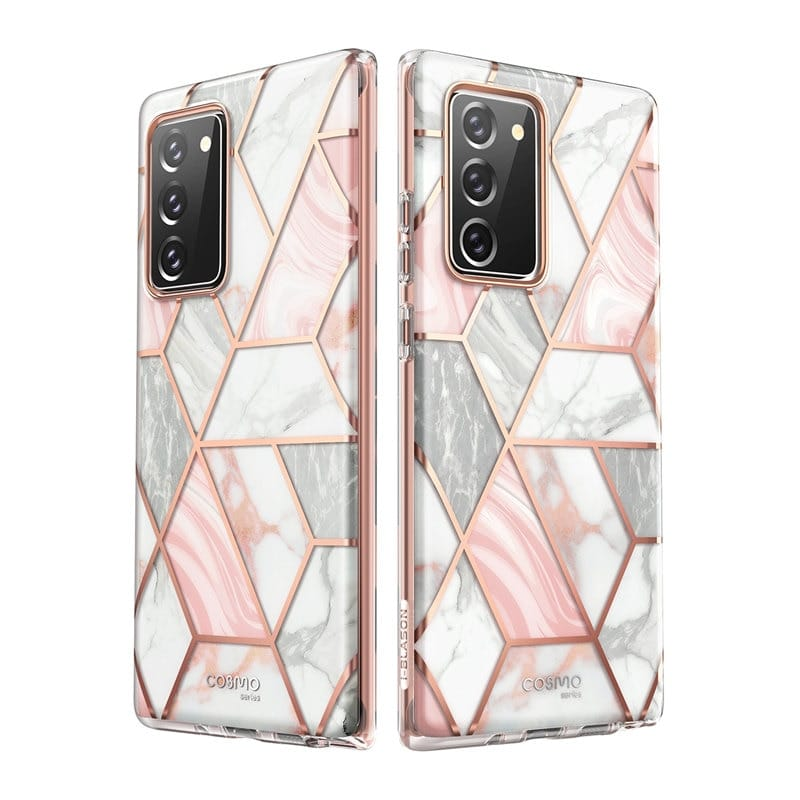 For Samsung Galaxy Note 20 -cosmo Full-body Glitter Marble