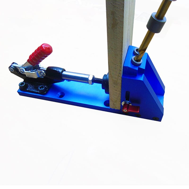 Upgraded Pocket Hole Jig with Toggle Clamp and 9.5mm Drill