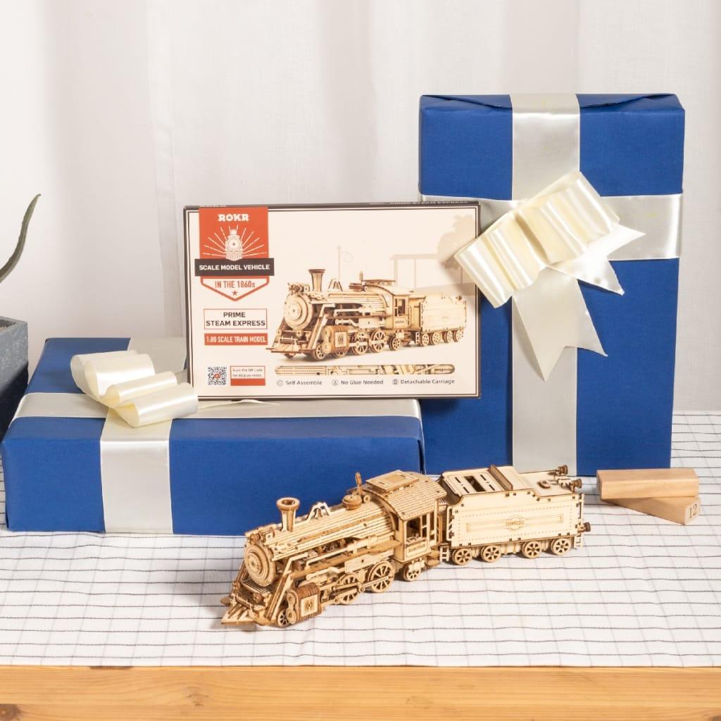 Diy Mechanical Model Wooden Model Building Kit - 6 Options