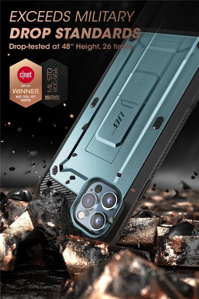 For Iphone 12/12 Pro(2020) Rugged Cover W/ Built-in Screen