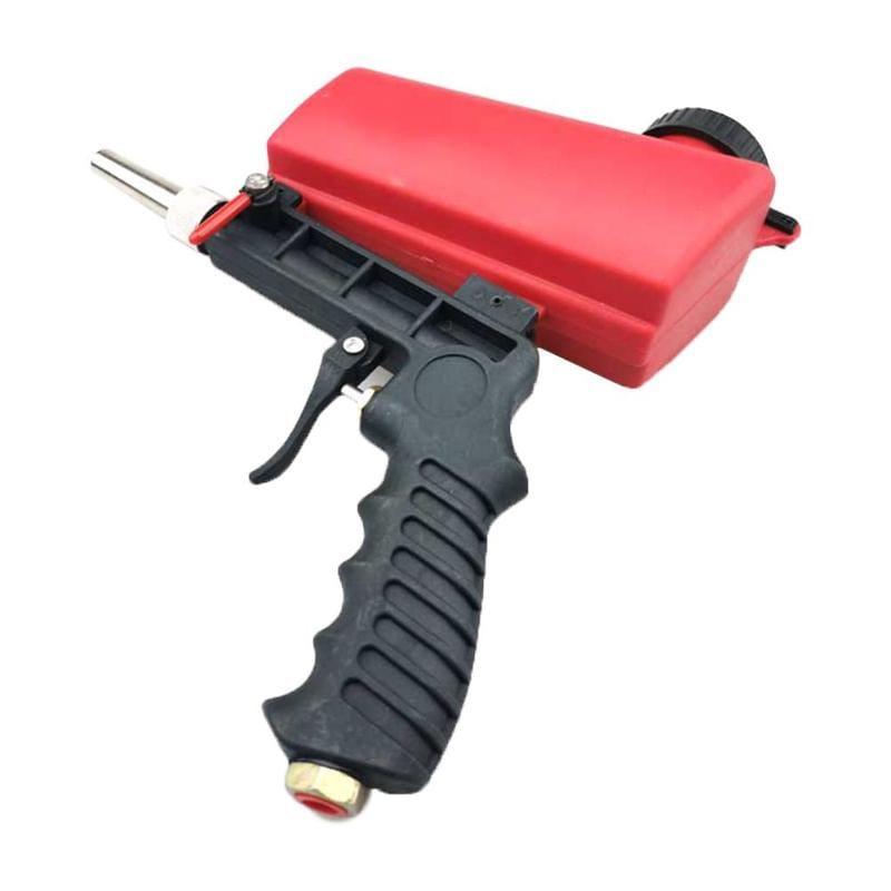 90psi Mini Aerodynamic Spray Gun Aluminium Handheld Gravity
