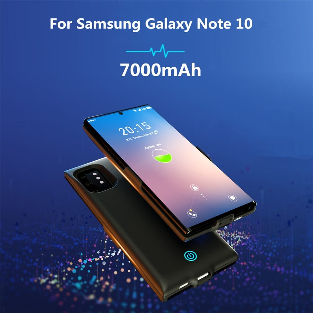 For Samsung Galaxy Note 10 plus Battery Charger Cases
