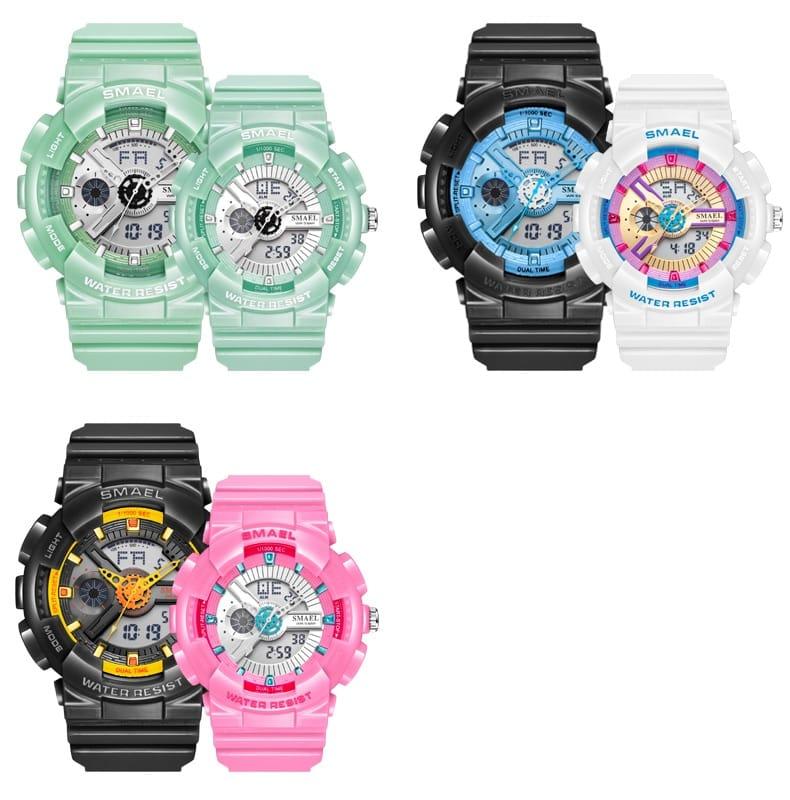 Women's 50m Waterproof Sport Watch Bracelet- 7 Colours