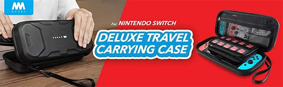 Deluxe Protective Travel Carrying Case Pouch for Nintendo
