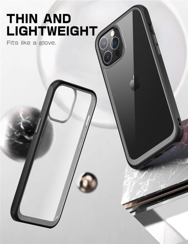 For Iphone 12 Pro Max Protective Bumper Clear back Cover- 2