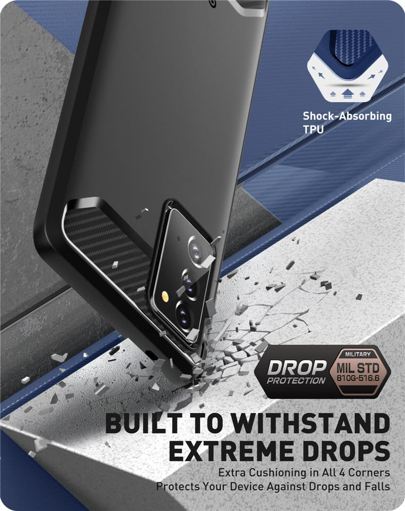 For Samsung Galaxy Note 20 Fully Rugged Case Cover with