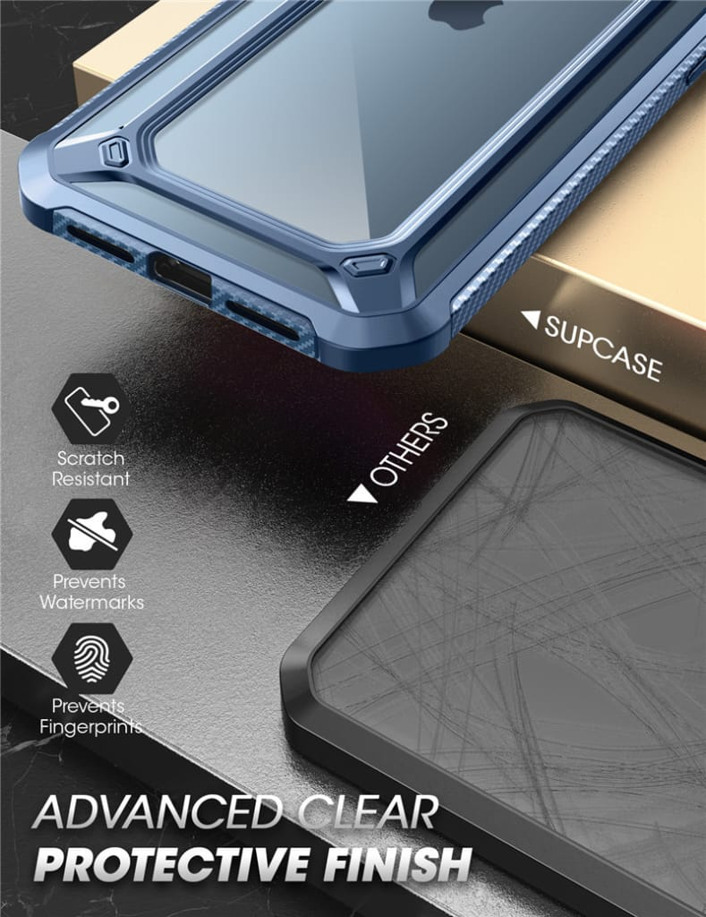 For Iphone 12 Pro Max Protective Clear Bumper Case back