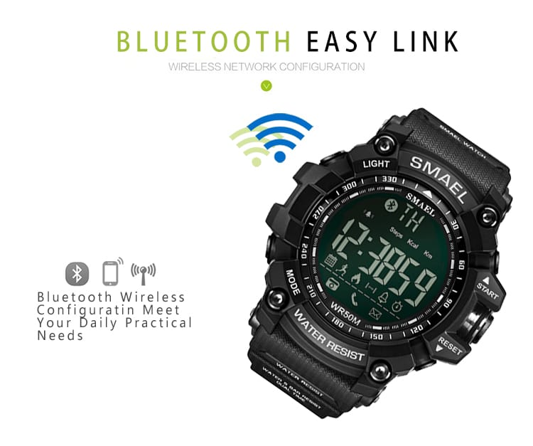 Multi-functional Intelligent Bluetooth Wrist Watch - 5