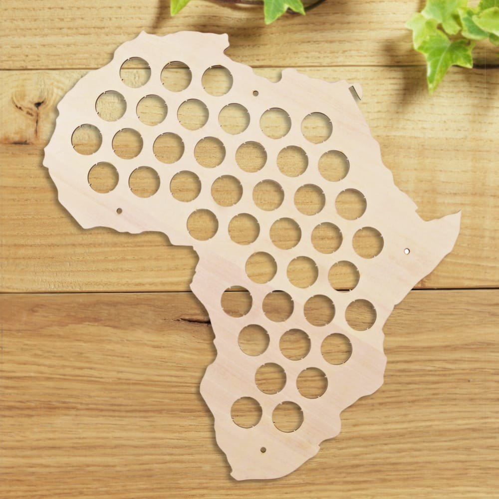 African Beer Cap Map