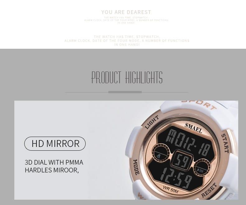 Sport Women's Fashion Digital Watch - 9 Colours