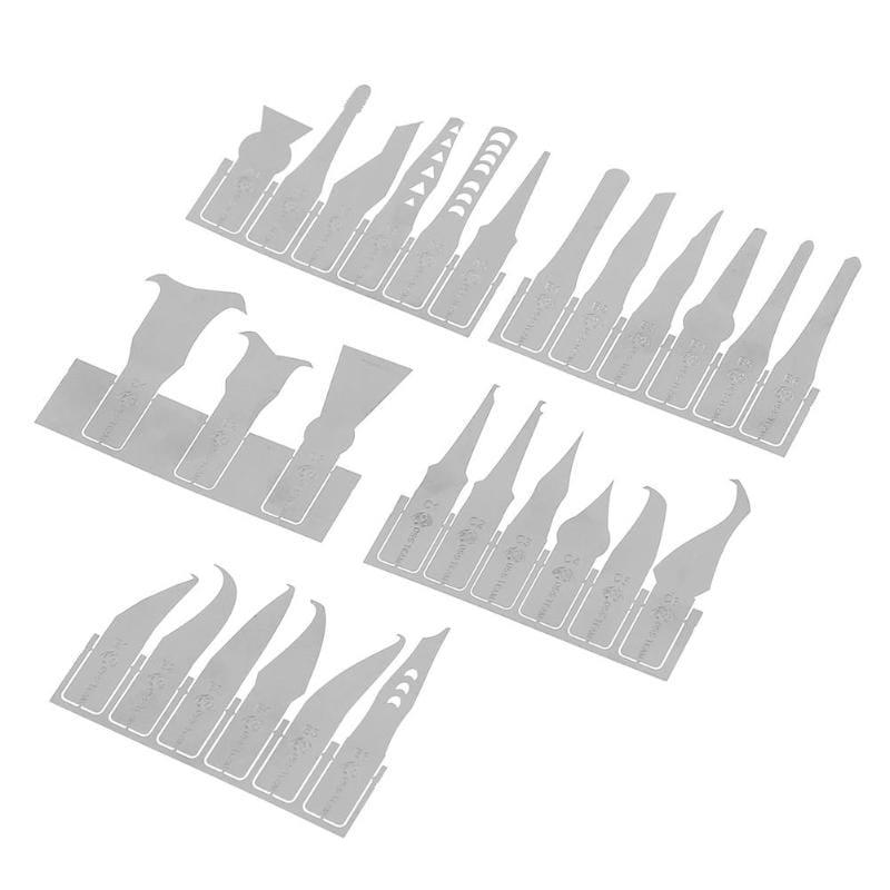 27 in 1 Ic Chip Repair thin Blade Tool Cpu Metal Remover