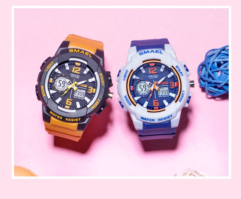Digital Led Display Waterproof Sport Watch - 11 Colours