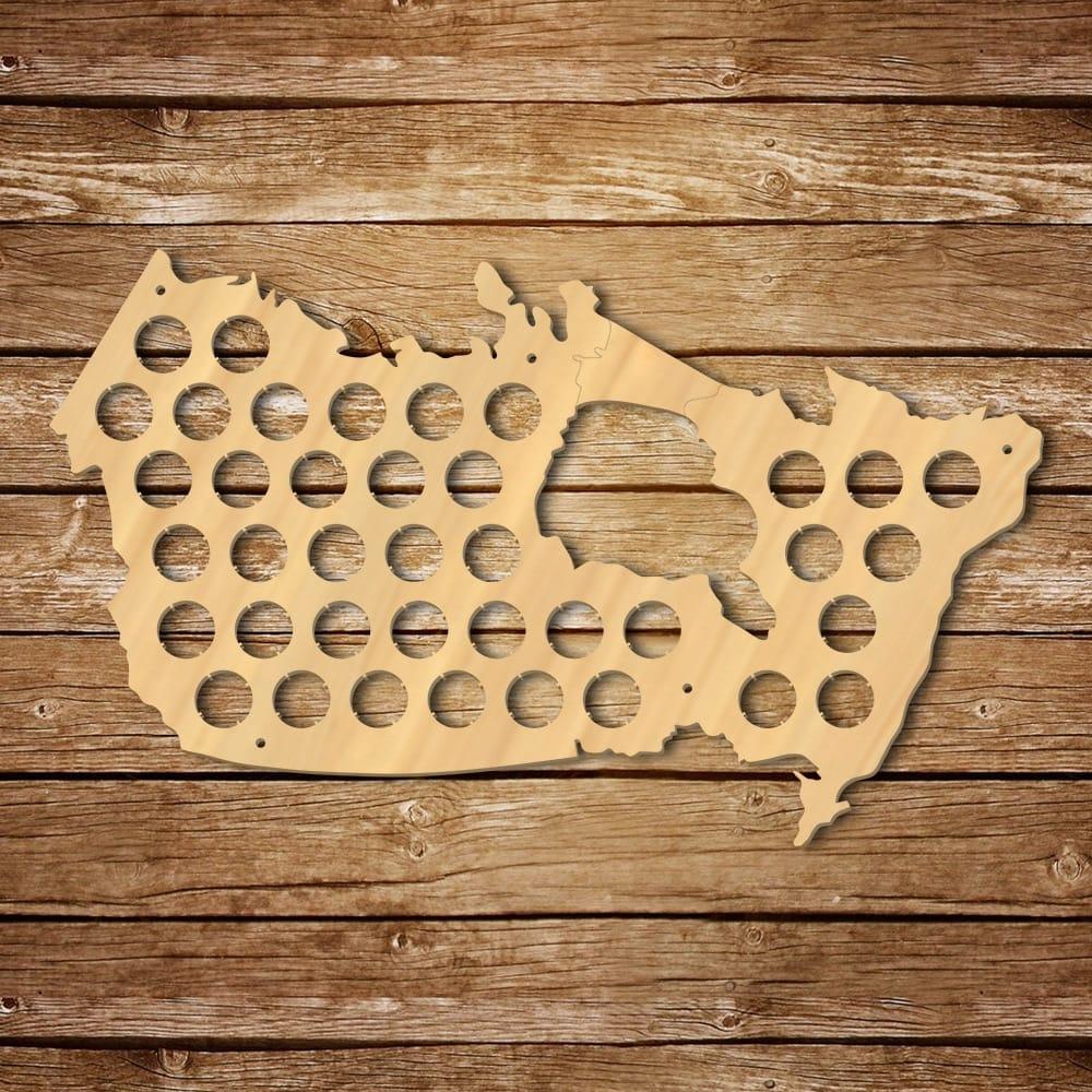 Canada Beer Cap Map