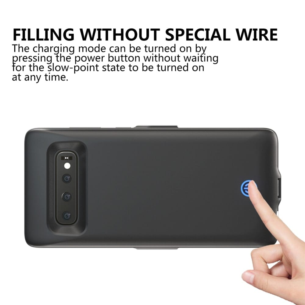 7000mah Battery Charger Cover for Samsung Galaxy S10 plus