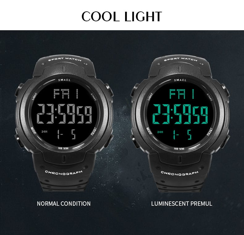 Men's Big Dial Casual Sport Wrist Watch Army - 5 Colours