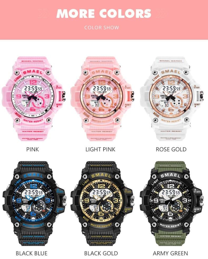 Ladies Watch Set Sport - 2 Colours