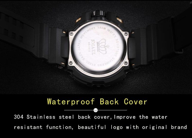 Men's Multi-functional Dial Wrist Watch - 4 Colours