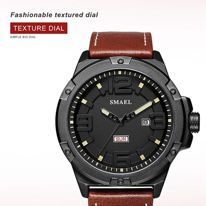Men's Waterproof Simple Style Digital Sports Wrist Watch - 4