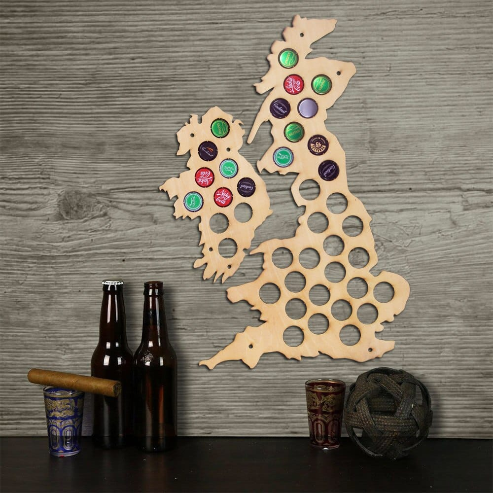 Uk Beer Cap Map