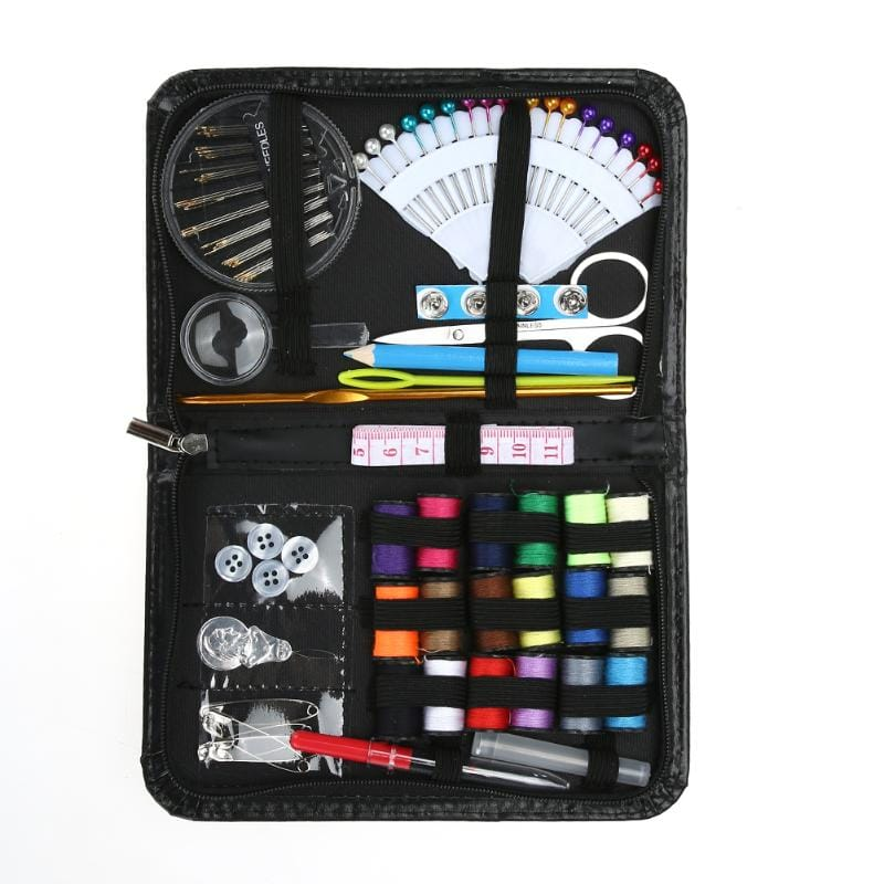98pcs Multi-function Sewing Kit Sewing Needle Thread Cross
