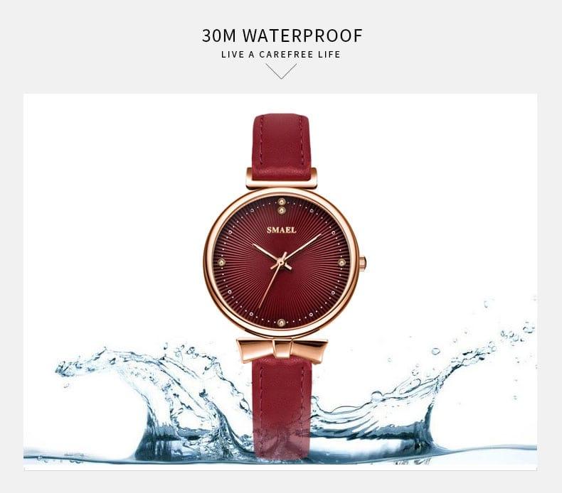 Women's Quartz Luxury Waterproof Watch - 5 Colours