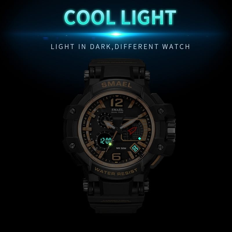 Led Waterproof Couple's Sport Watch - 7 Colours